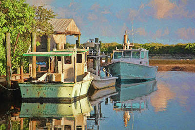 Photograph - A Fishing Life  by HH Photography of Florida