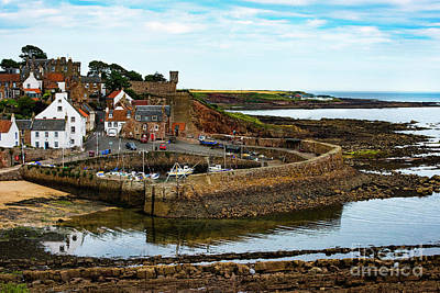 Photograph - A Fishing Village Named Crail In East Nuek Of Fife Scotland by MaryJane Armstrong
