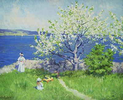 A Fjord Near Oslo Art Print