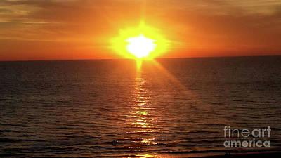Photograph - A Florida Sunset - Madeira Beach by Scott D Van Osdol