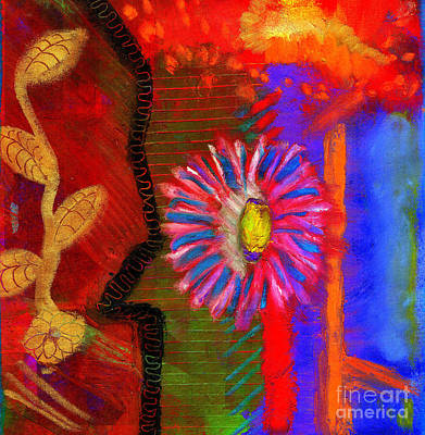 Painting - A Flower For You by Angela L Walker