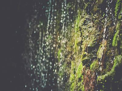A Flowing Rock Art Print