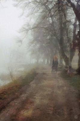 Fog Mist Digital Art - A Foggy Day by Gun Legler