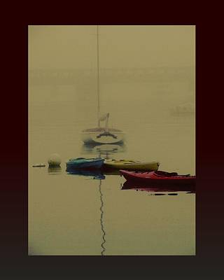 A Foggy Day On Cape Cod Bay... Art Print by Rene Crystal