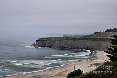 Photograph - A Foggy Day On Hwy 1 by Nancy Chambers