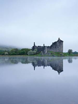Photograph - A Foggy Morning At Kilchurn by Stephen Taylor