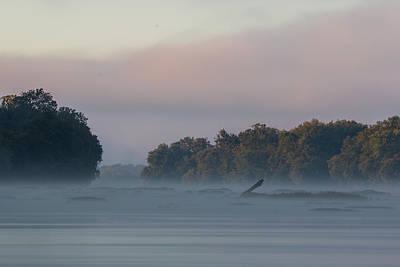 Photograph - A Foggy Sunrise Along The Susquehanna by Jim Cheney