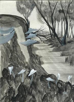 Painting - A Fond Memory  by Robert Meszaros