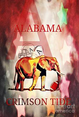 A For Alabama Art Print