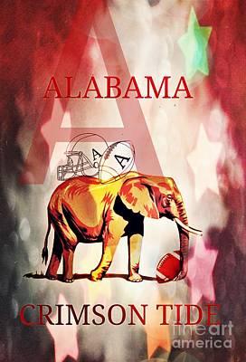 A For Alabama Art Print by Maria Urso