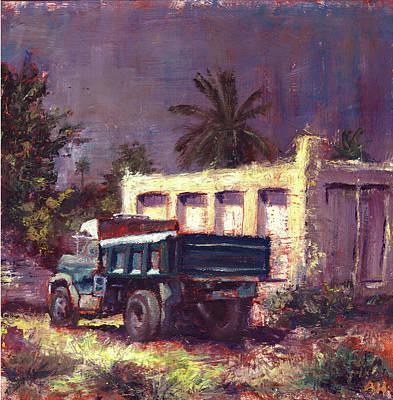 A Forgotten Truck  Original by Amani Al Hajeri