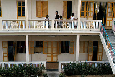 Photograph - A French Balcony, Danang by Robert Holden