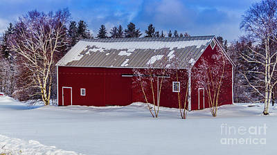 Photograph - A Fresh Coating Of Snow Near Stowe by Scenic Vermont Photography