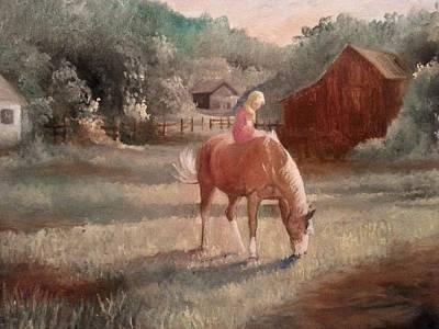 Jenna Thomas Wall Art - Painting - A Friend Of Mine by Jenna Thomas