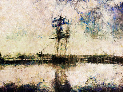 Wall Art - Photograph - A Gallant Ship by Claire Bull