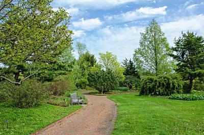 Photograph - A Garden Walk by Donna Doherty