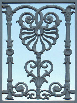 Photograph - A Gate On Indian Canyon Drive by Stan  Magnan