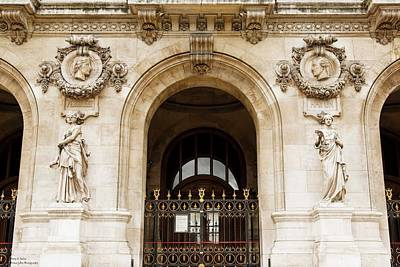 Photograph - A Gate To The Opera  by Hany J