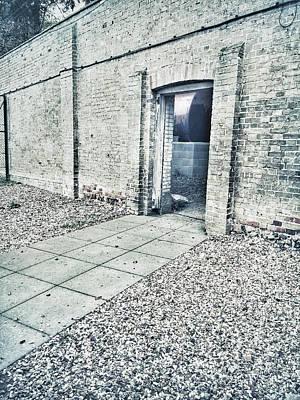 A Gateway In A Stone Wall Print by Tom Gowanlock