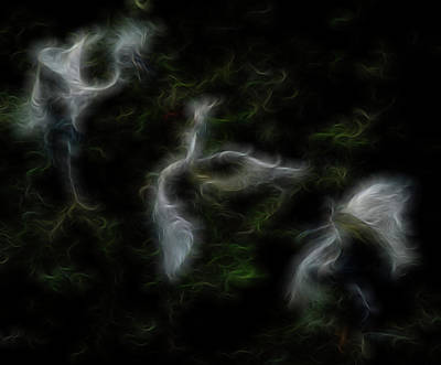 Digital Art - A Gathering Of Angels 4 by William Horden