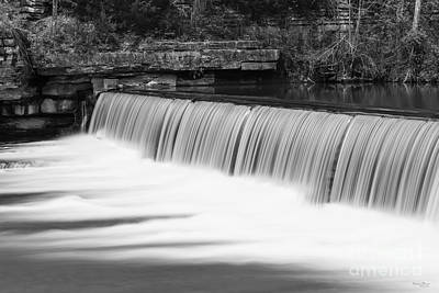 Photograph - A Gentle Change Grayscale by Jennifer White