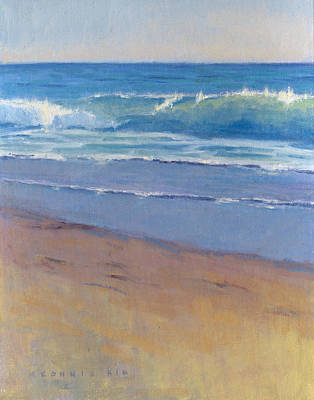 Painting - Gentle Wave / Crystal Cove by Konnie Kim