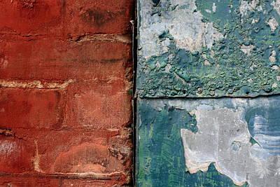 Rivets Photograph - A Geometry Lesson by Kreddible Trout