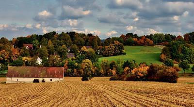 Photograph - A German Autumn by Rita E