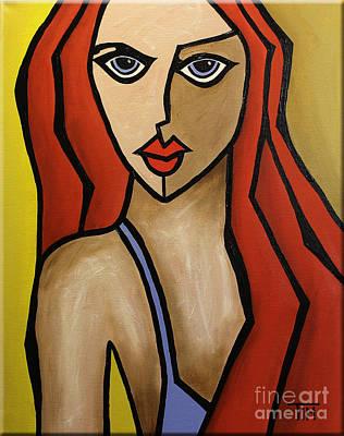 Bossa Nova Painting - A Girl Named Ipanema by Tim Ross