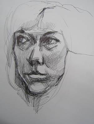 A Girl  Original by Piotr Antonow