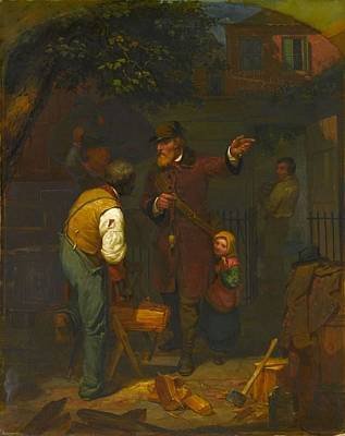 Outerspace Patenets - A German Immigrant Inquiring His Way ,  Charles Felix Blauvelt by Charles Felix Blauvelt