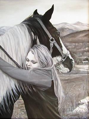 Painting - A Girls Best Friend by Heidi Parmelee-Pratt