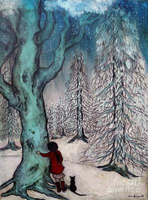 A Girl's Hundred Acre Wood Original