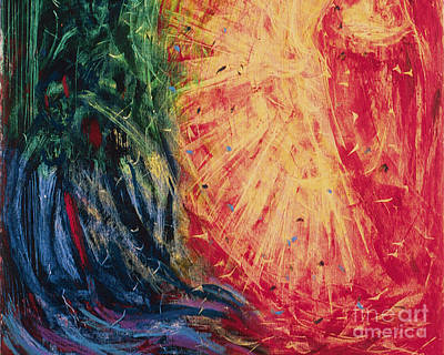 Painting - A Gleam Of Glory - Bggog by Fr Bob Gilroy SJ