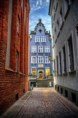 Enchanted Photograph - A Glimpse Of Mariacka Street In Gdansk Poland by Carol Japp