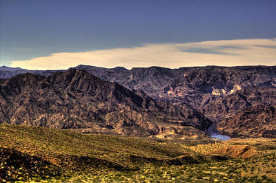 Photograph - A Glimpse Of The Colorado River by Roger Passman