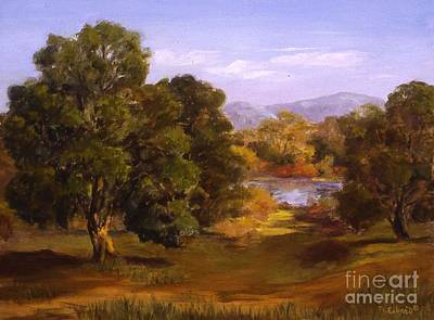 Painting - A Glimpse Of The Llano by Mary Erbert