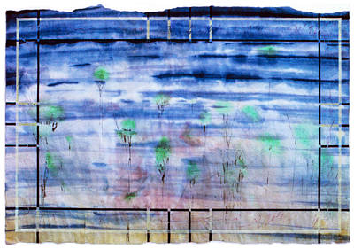A Glimpse Art Print by Tom Hefko