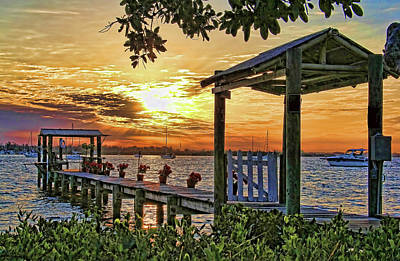 Photograph - A Glorious Morning by HH Photography of Florida