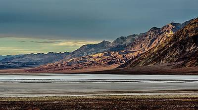 Photograph - A Glow On The Amargosa Range by Gaelyn Olmsted