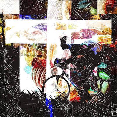 Digital Art - A Goal by Payet Emmanuel