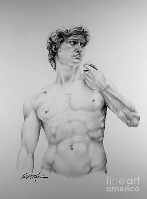 A Goliath Of A David Art Print by Roy Anthony Kaelin