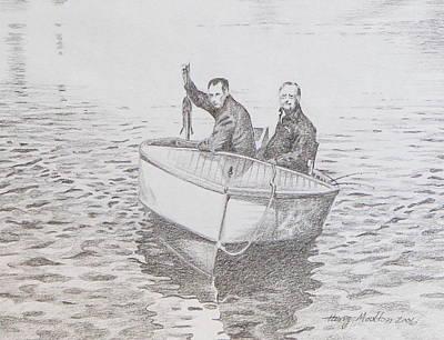 A Good Day Art Print by Harry Moulton