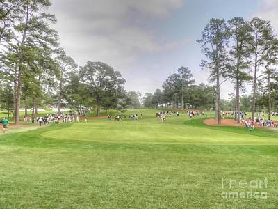 Augusta Golf Photograph - A Good Walk Spoiled by David Bearden