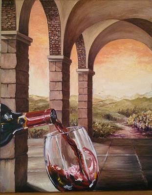Painting - A Good Year by Art By Three Sarah Rebekah Rachel White