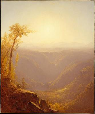 Cloves Painting - A Gorge In The Mountains by MotionAge Designs