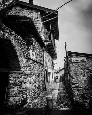 Photograph - A. Gramsci St. by Mickey Stellavato