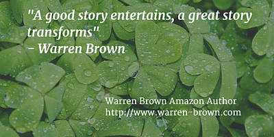 A Great Story Art Print by Warren Brown