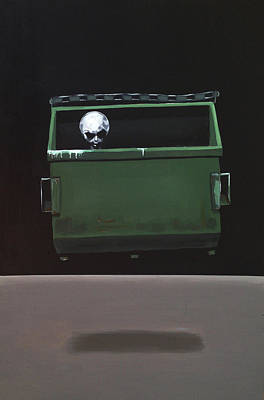 Dumpster Painting - Driving It Home by Jeffrey Bess