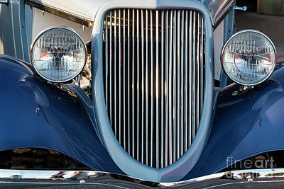 Photograph - A Grille With A Smile by Teresa Wilson
